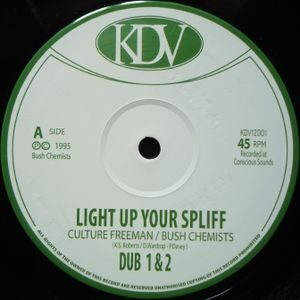 KDV12001 Culture Freeman & Bush Chemist - Ligth up your Spliff